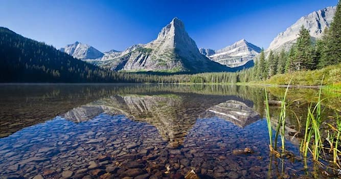 Geography Trivia Question: Glacier National Park, known for some of the planet's spectacular scenery, is found in which country?