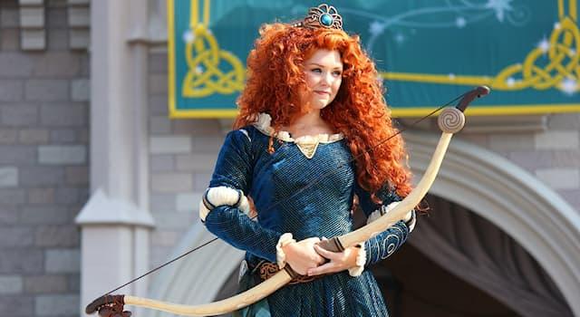 Кино Вопрос: Главной героиней какого диснеевского мультфильма является принцесса Мерида?