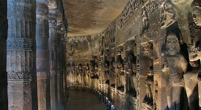 Geography Trivia Question: In which city are the famous Ajanta caves located?