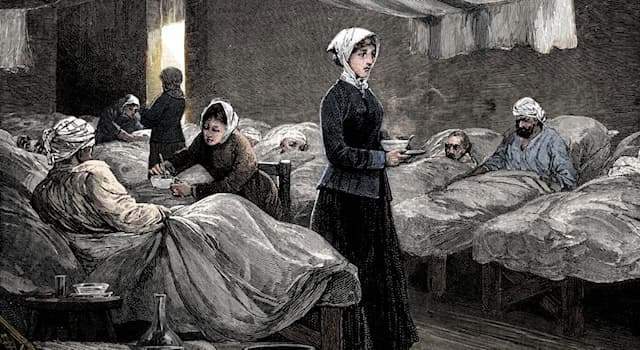 History Trivia Question: In which country was Florence Nightingale born in 1820?