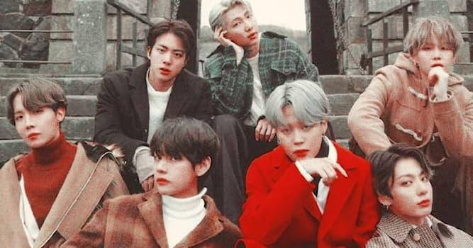 Культура Вопрос: Из какой страны группа BTS?