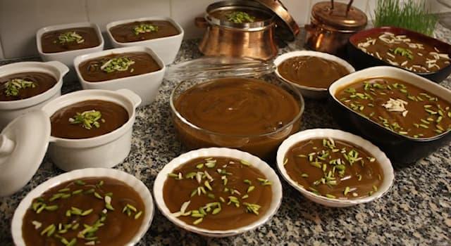 Общество Вопрос: Как называется блюдо из проросшей пшеницы у тюркских и иранских народов, которое готовят к празднику Навруз?