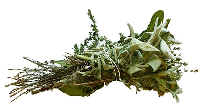 Society Trivia Question: Which is a bundle of herbs tied together and used in cooking?