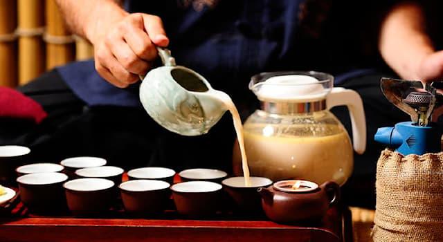 Общество Вопрос: Как называется чай, в который китайцы добавляют соль вместо сахара?