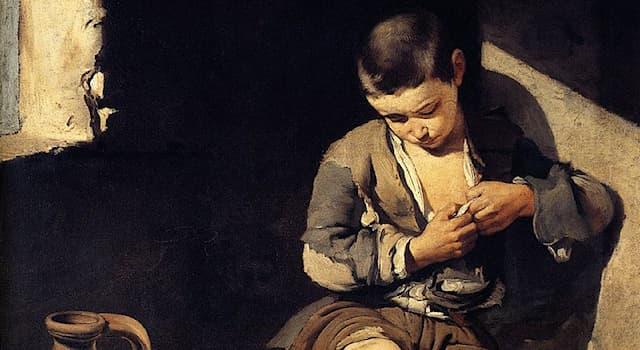 Культура Вопрос: Как называется эта картина испанского художника Бартоломе Эстебана Мурильо?