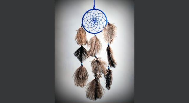 Культура Вопрос: Как называется индейский амулет, защищающий спящего от злых духов и болезней?