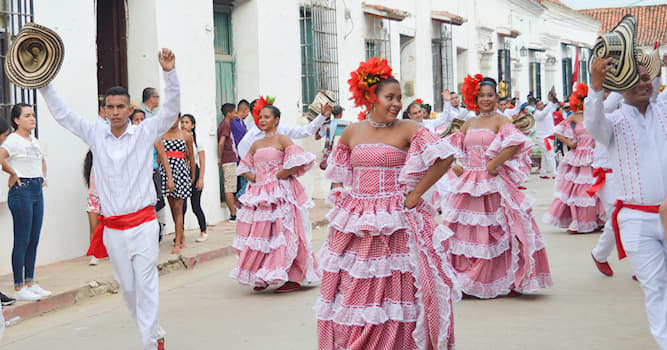 Culture Trivia Question: Which of these is a musical rhythm and traditional folk dance from Colombia?