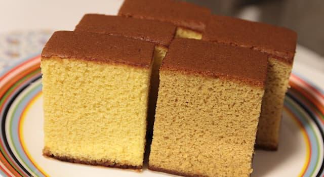 Культура Вопрос: Как называется популярный в Японии бисквит, появившийся в XVI веке благодаря португальским торговцам?
