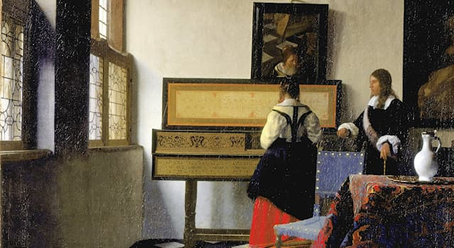 Culture Trivia Question: What is this painting by Johannes Vermeer called?