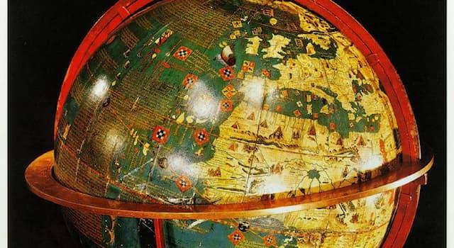 География Вопрос: Как называется старейший сохранившийся до наших дней глобус?