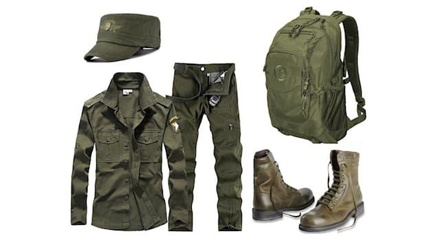 Культура Вопрос: Как называется стилевое направление в одежде с использованием элементов военного снаряжения?