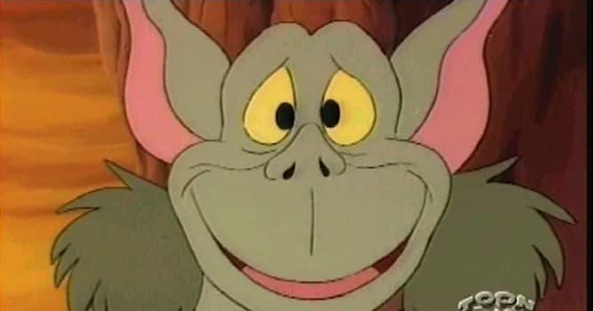 """Кино Вопрос: Как звали маленького гоблина в мультсериале """"Мишки Гамми""""?"""