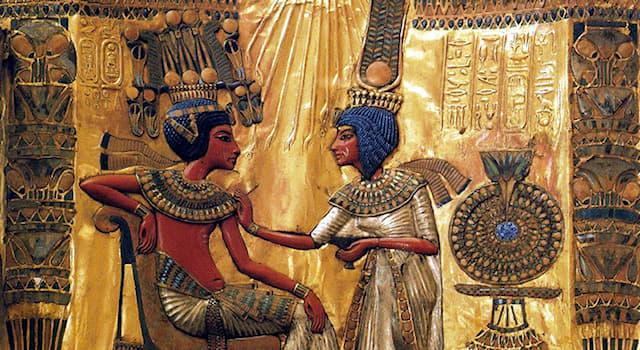 История Вопрос: Как звали тёщу фараона Древнего Египта Тутанхамона?