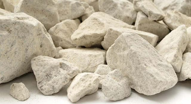 Science Trivia Question: Which kind of rock is soluble in water?
