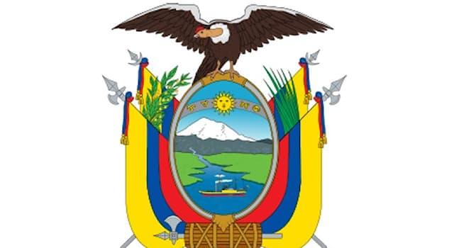 География Вопрос: Какая высочайшая вершина Эквадора изображена на гербе этой южноамериканской страны?