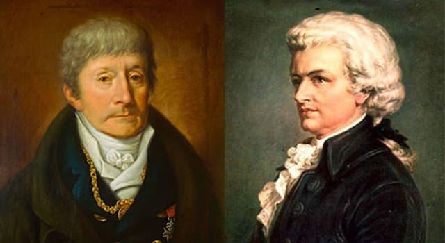 Культура Вопрос: Какого композитора считали виновным в отравлении великого композитора Вольфганга Амадея Моцарта?