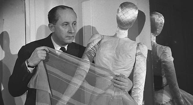 Культура Вопрос: Какого модельера в 1947 году Кристиан Диор нанял на работу закройщиком в только что приобретённое ателье?
