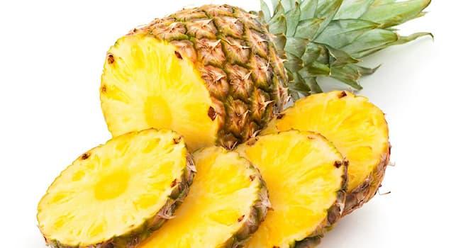 Природа Вопрос: Какой фермент, содержащийся в ананасах, способствует похудению?