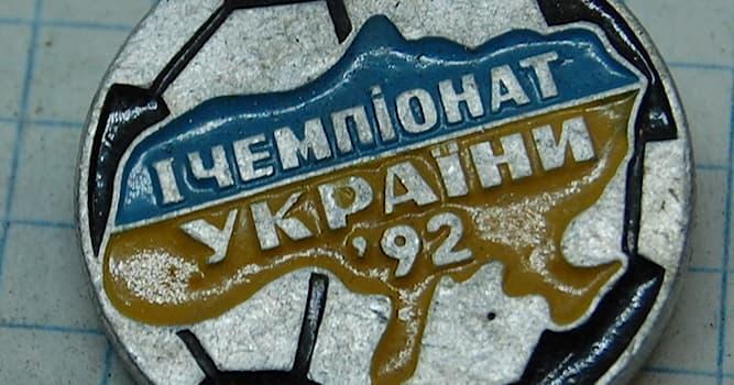 Спорт Вопрос: Какой футбольный клуб стал первым чемпионом в независимой Украине?