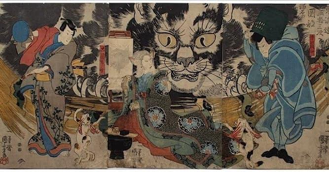 """Культура Вопрос: Какой традиционный японский фольклорный жанр называют """"кайдан""""?"""