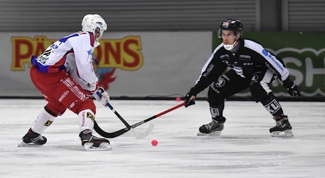 Спорт Вопрос: Какова продолжительность одного тайма в хоккее с мячом?