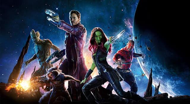 """Кино Вопрос: Кто из перечисленных НЕ входил в убойную бригаду мстителей из фильма """"Стражи Галактики""""?"""