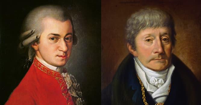 """Культура Вопрос: Кто является автором трагедии """"Моцарт и Сальери"""", распространившей слухи об отравлении Моцарта Сальери?"""