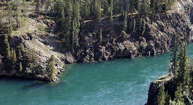 География Вопрос: На территории каких стран протекает река Юкон?