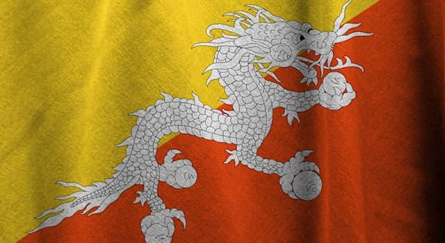 Общество Вопрос: Национальным символом какой страны является мифологический дракон Друк?