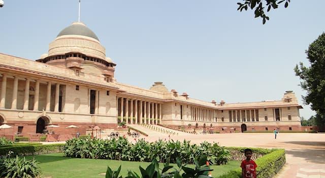 Общество Вопрос: Раштрапати-Бхаван — это официальная резиденция президента какой страны?