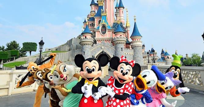 Общество Вопрос: Сколько в мире парков развлечений Уолтера Элайаса Диснея (по состоянию на 2021 год)?