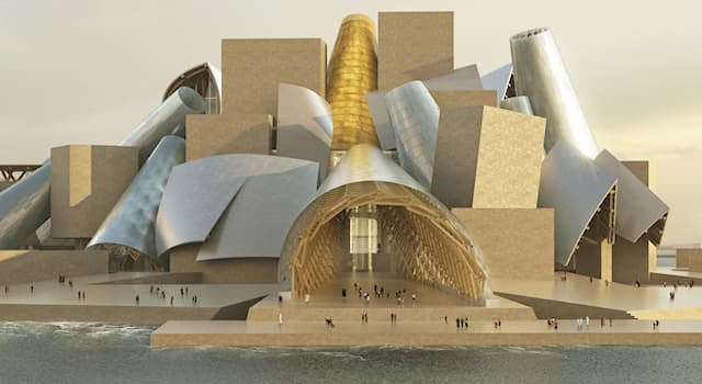 Culture Trivia Question: The Bilbao and Abu Dhabi branches of which museum were designed by Frank Gehry?