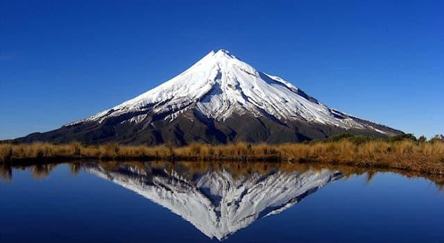 География Вопрос: В какой из стран мира находится эта гора (бездействующий вулкан), называемая Таранаки?