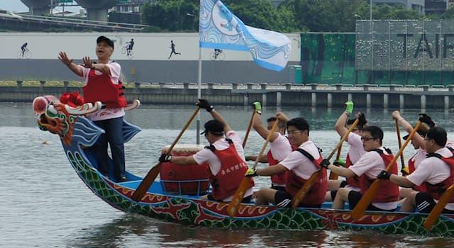 Спорт Вопрос: В какой стране началась история гребли на драконьих лодках?