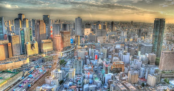 Geography Trivia Question: In which country is the city of Osaka located?