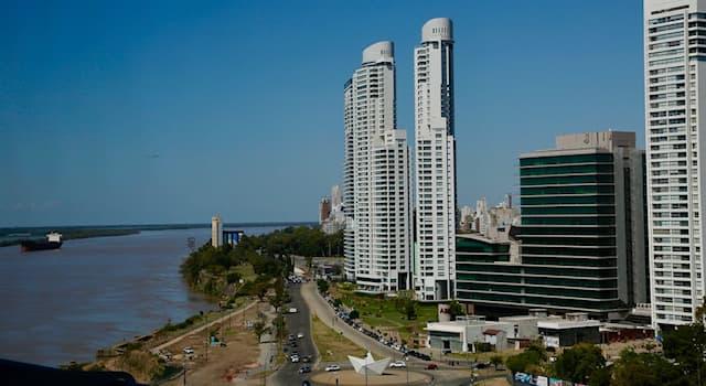География Вопрос: В какой стране находится город Росарио?