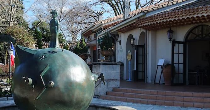 Культура Вопрос: В какой стране находится музей Маленького Принца, героя классической новеллы Антуана де Сент-Экзюпери?