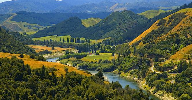 Природа Вопрос: В какой стране находится река Уонгануи, которую суд наделил человеческими правами?