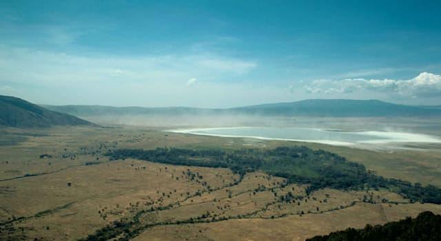География Вопрос: В какой стране находится знаменитый кратер вулкана Нгоронгоро, в котором обитают тысячи животных?