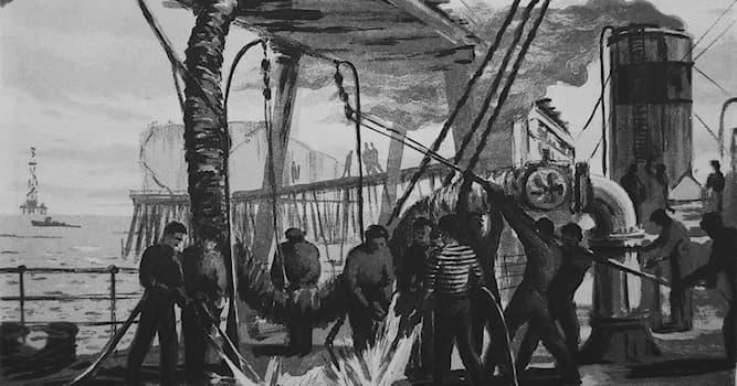 География Вопрос: На территории какой современной страны появилась первая нефтяная скважина?