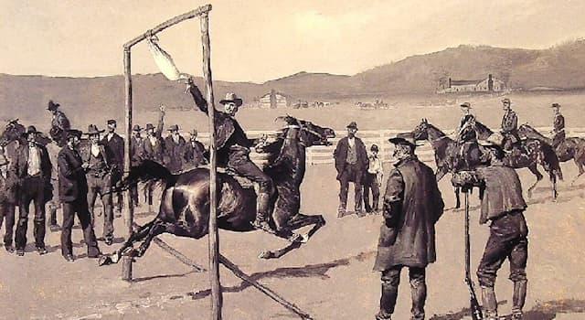 История Вопрос: В какой стране в 17 веке придумали кровавый спорт, подразумевавший под собой растягивание гуся?