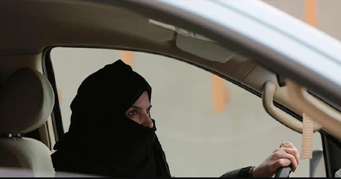 География Вопрос: В какой стране женщинам был выдан запрет на вождение машины?