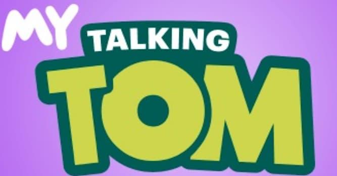"""Общество Вопрос: В каком году была выпущена игра """"Мой Говорящий Том""""?"""