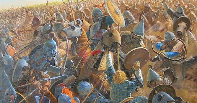 История Вопрос: В каком году состоялась битва на реке Калке?