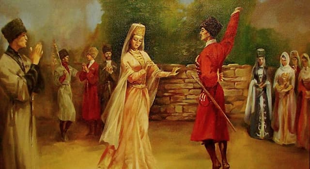 Culture Trivia Question: Lezginka is the traditional dance in which of the following regions?