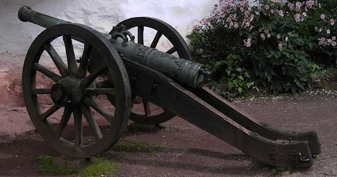 История Вопрос: В каком сражении русские впервые использовали пушки?