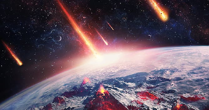 Science Trivia Question: What are pieces of dust and debris from space that burn up in Earth's atmosphere?