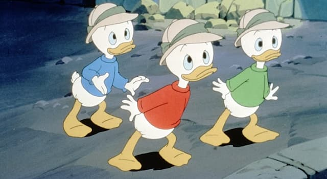 Movies & TV Trivia Question: What are the names of Donald Duck's nephews?