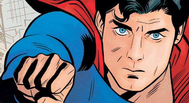Movies & TV Trivia Question: What colour is the 'S' on Superman's costume in the DC comics?