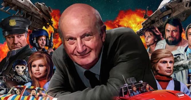 Movies & TV Trivia Question: What was the English film producer Gerry Anderson's first TV children's series?